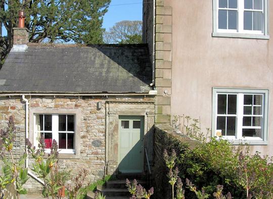 Walled garden of cottage