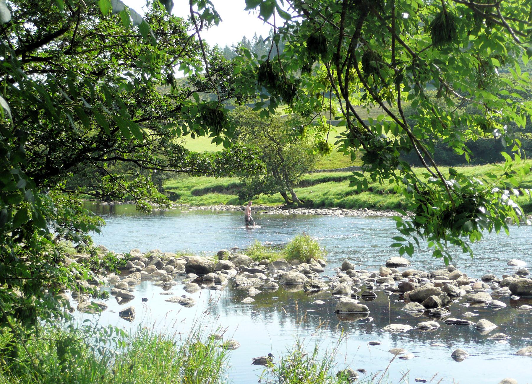 River Wharfe at A'wick