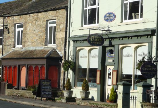 Aysgarth cafe