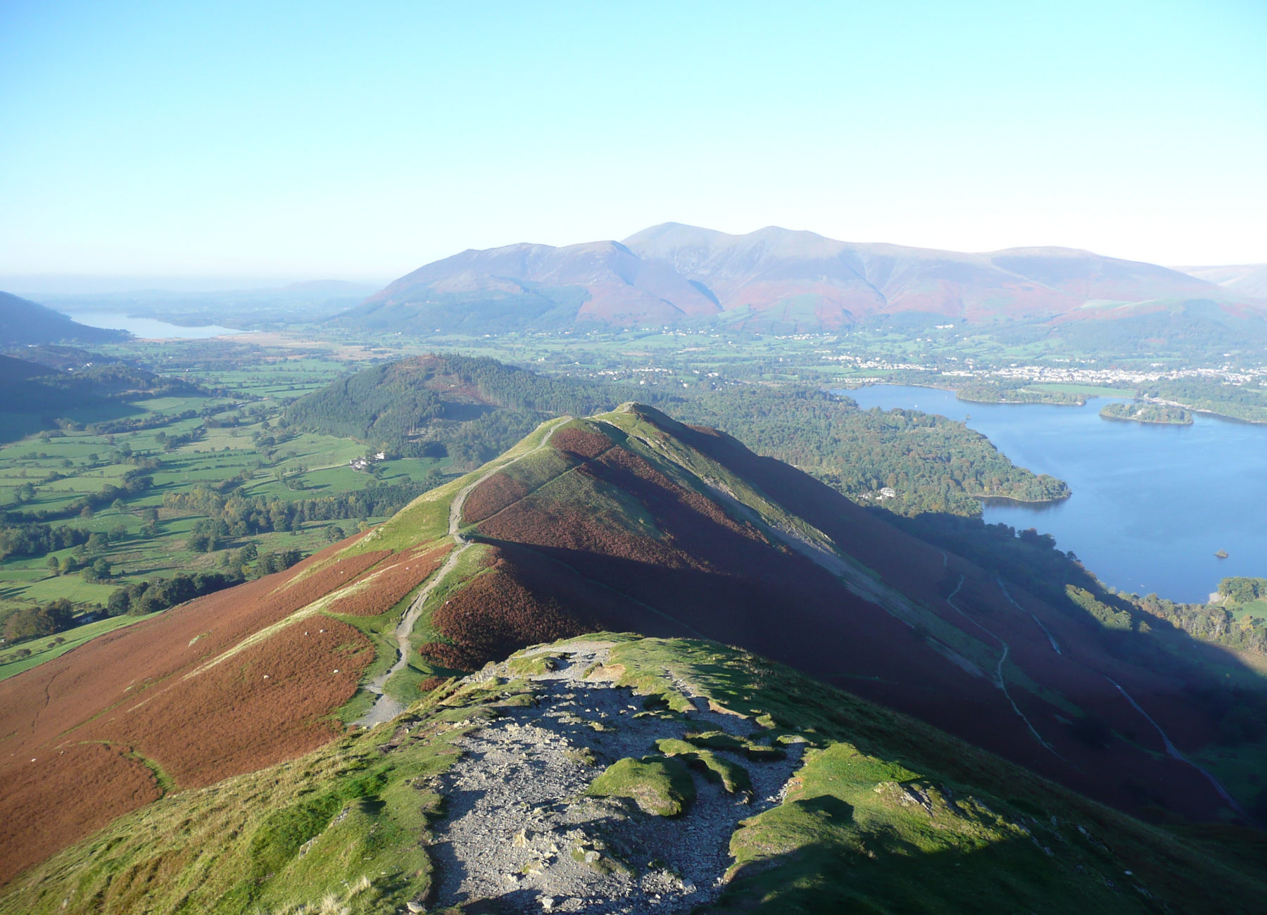 Catbells looking north