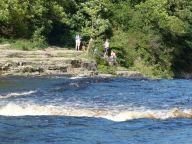 Ausgarth Falls lower