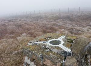Yockenthwaite Moor summit