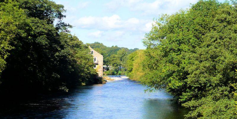 River Wharfe at Addingham