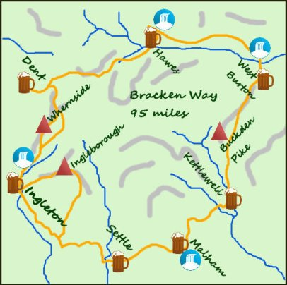 Bracken Way map