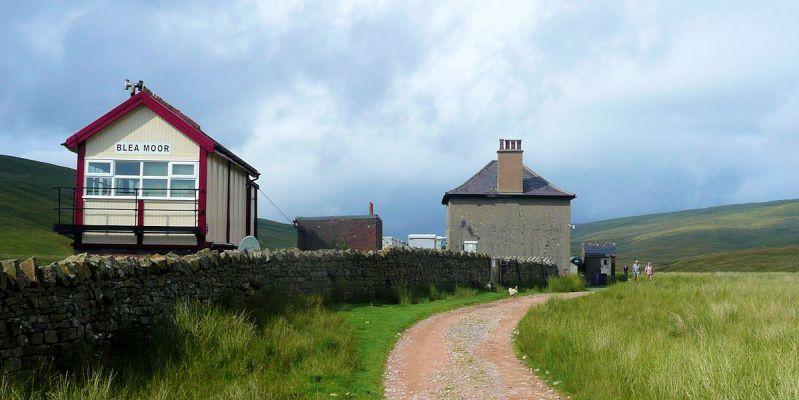 Bleamoor Sidings on Whernside
