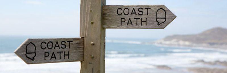 Just follow the sea!