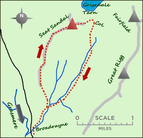 Seat Sandal map
