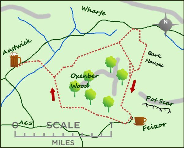 Austwick & Feizor map