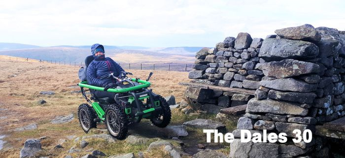 Debbie takes on the Dales 30 challenge, the highest mountains in the Dales
