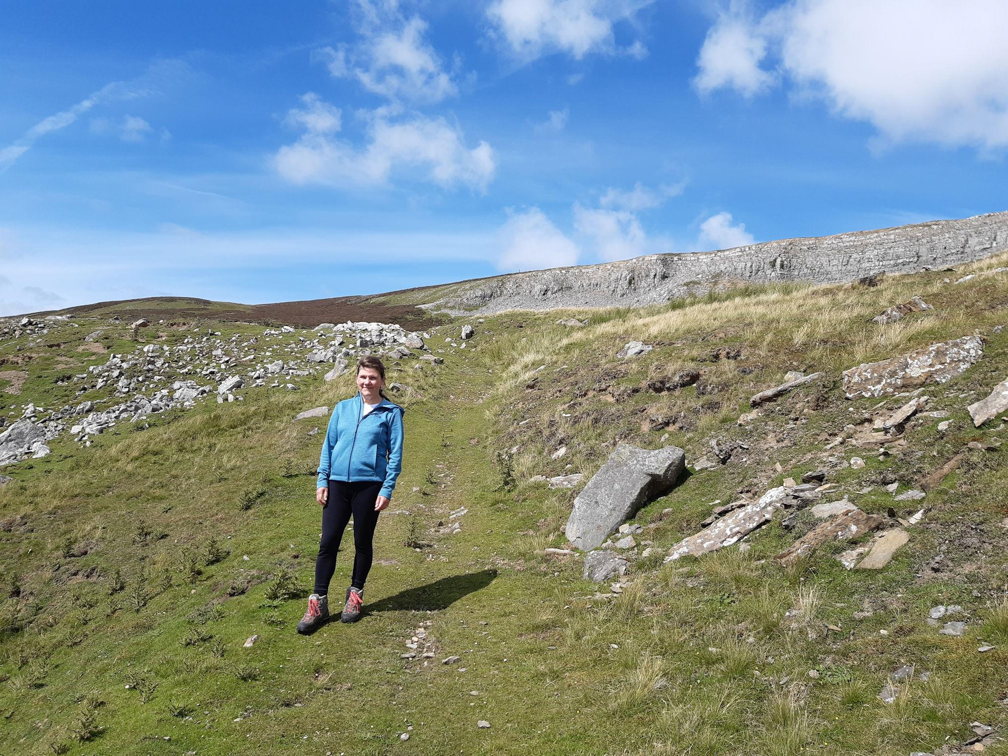Descending from the moor