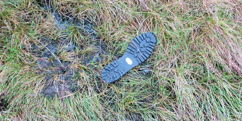 The bog claims a victim