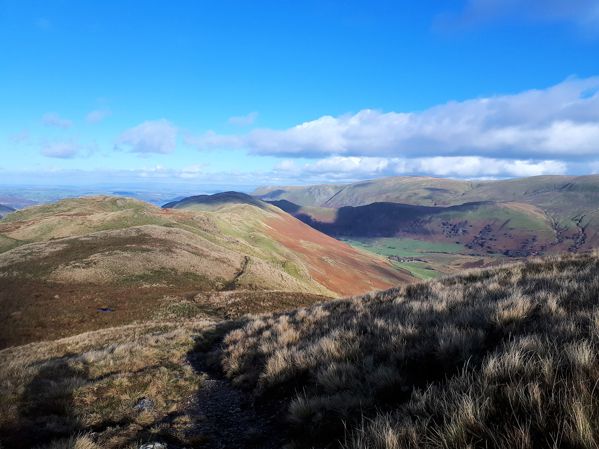 Full ridge of Beda Fell
