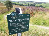 Well signed footpaths