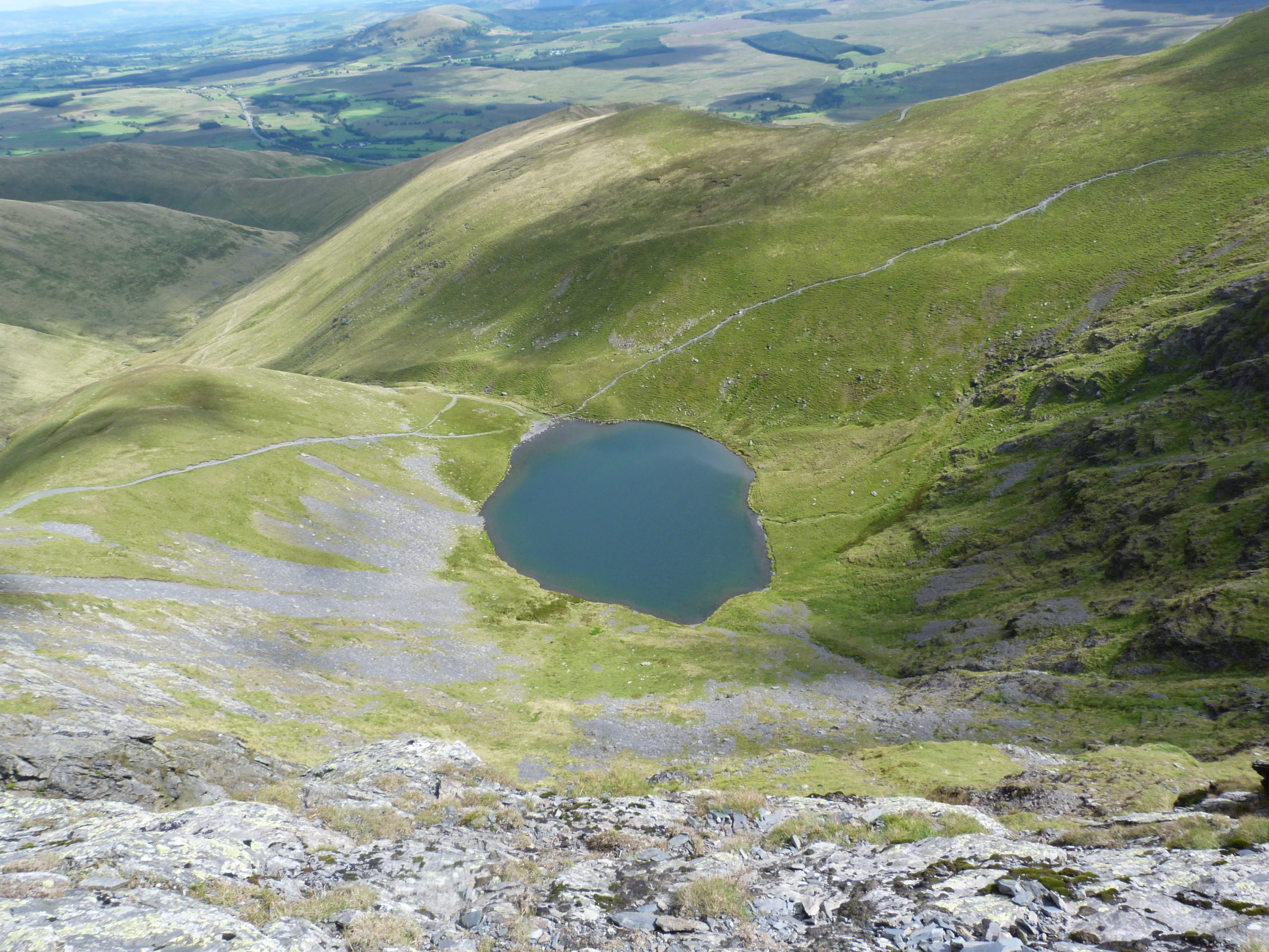 Scales Tarn from Sharp Edge