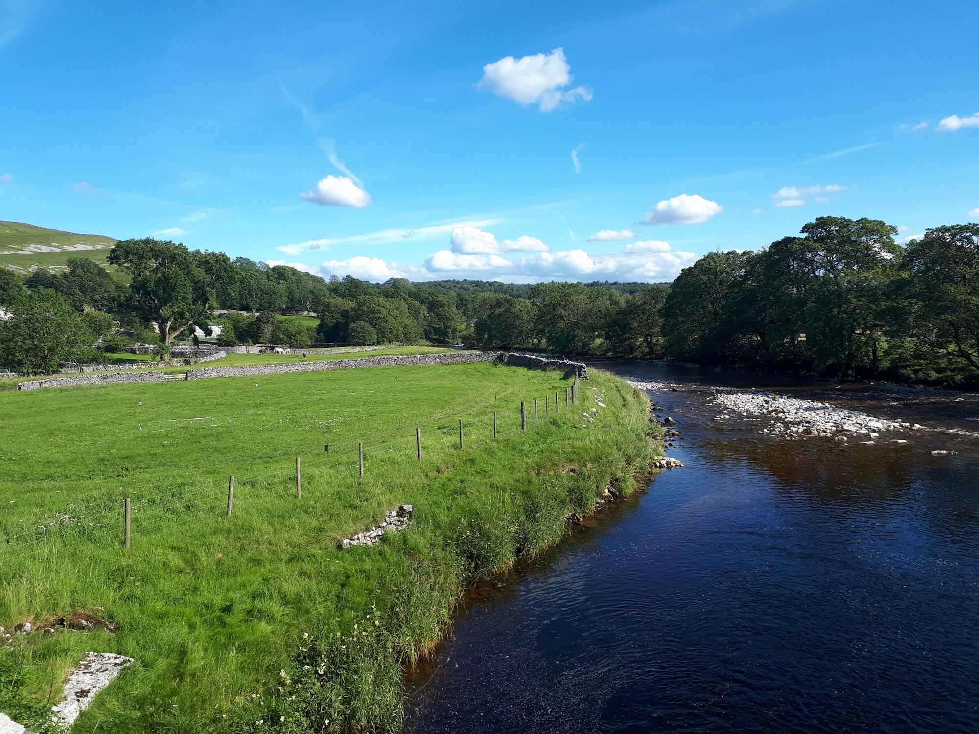 River Wharfe at Conistone