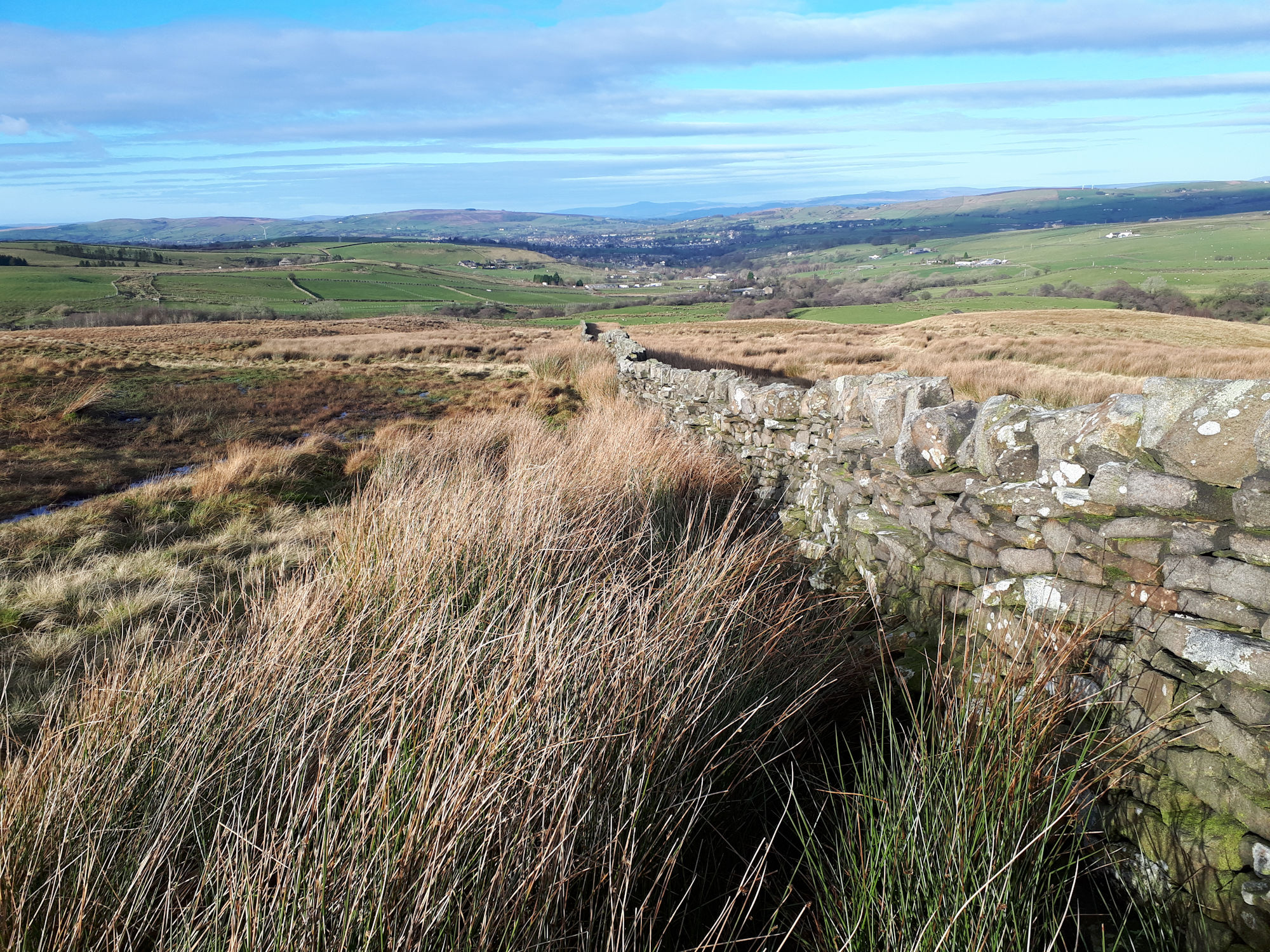 Looking towards the Dales