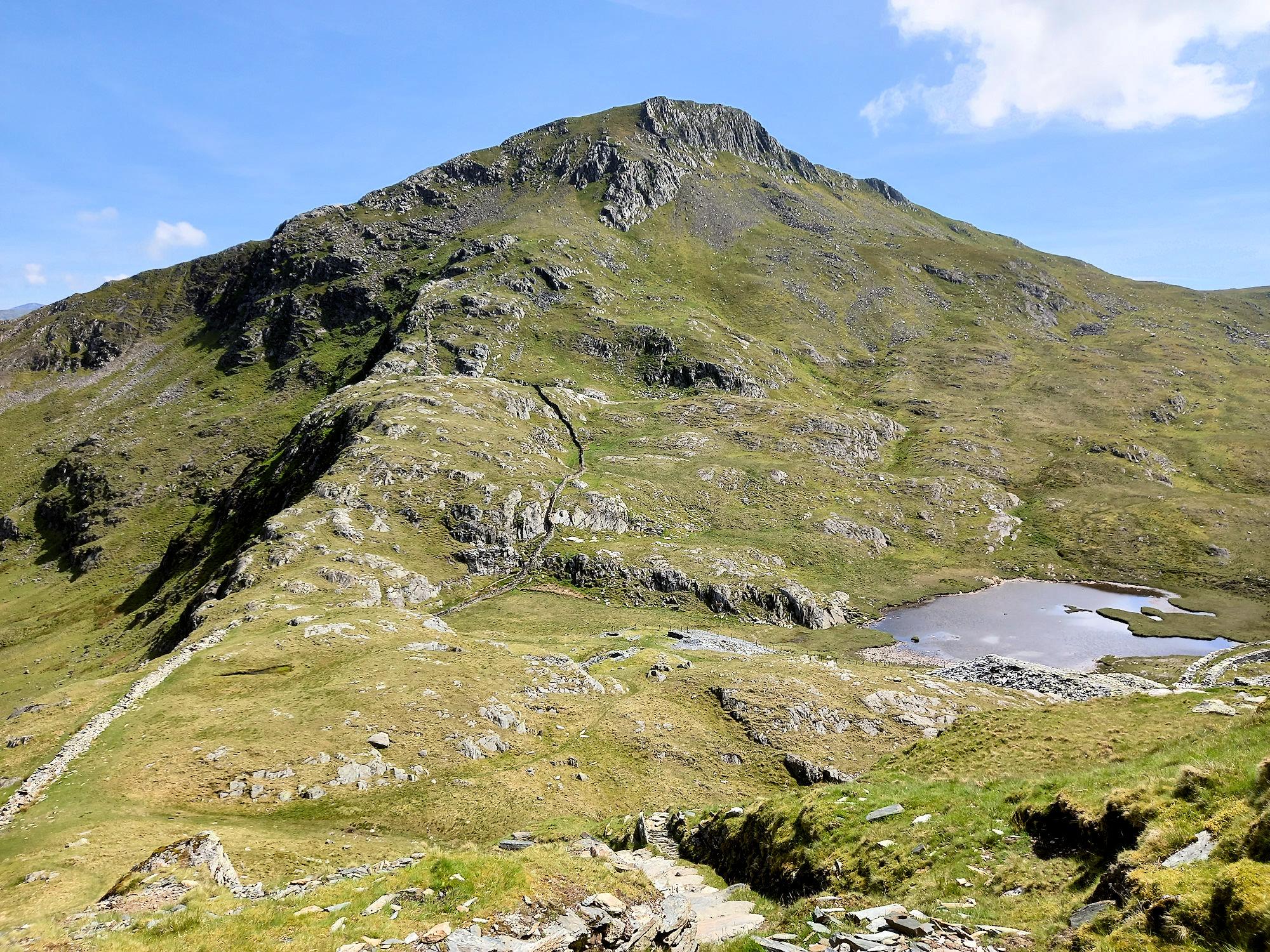 South Ridge to Yr Aran