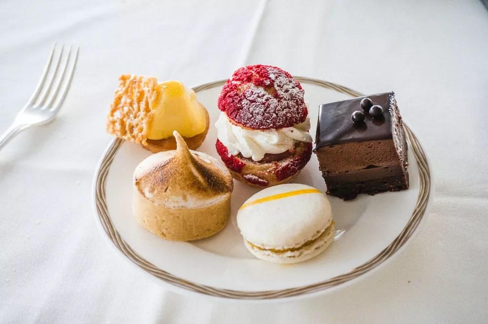 Burj Al Arab Afternoon Tea Sweet Desserts