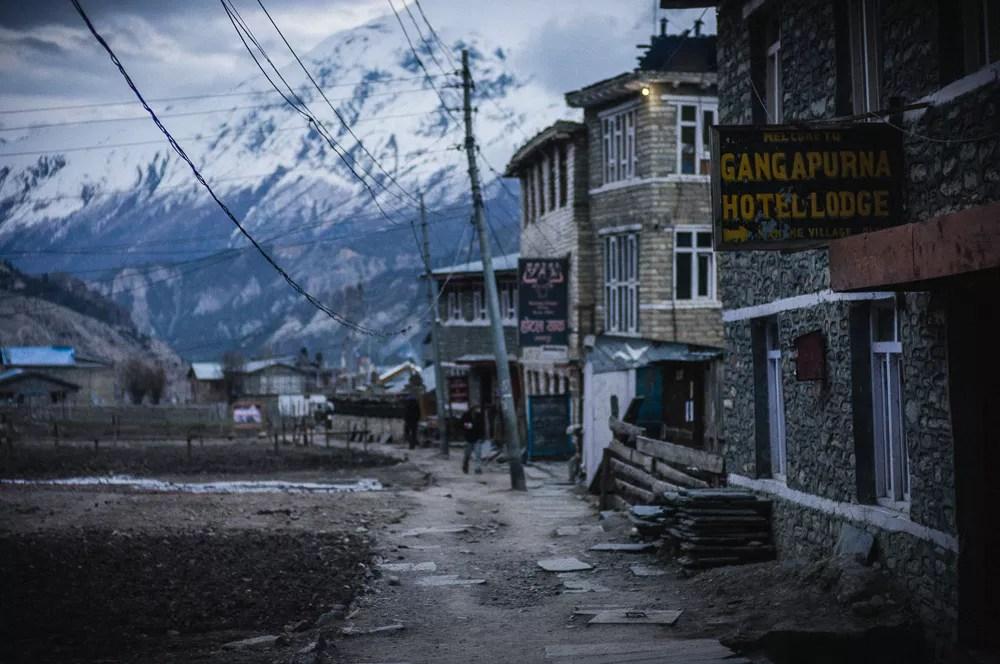 Manang Village Teahouse Trekking Annapurna Circuit