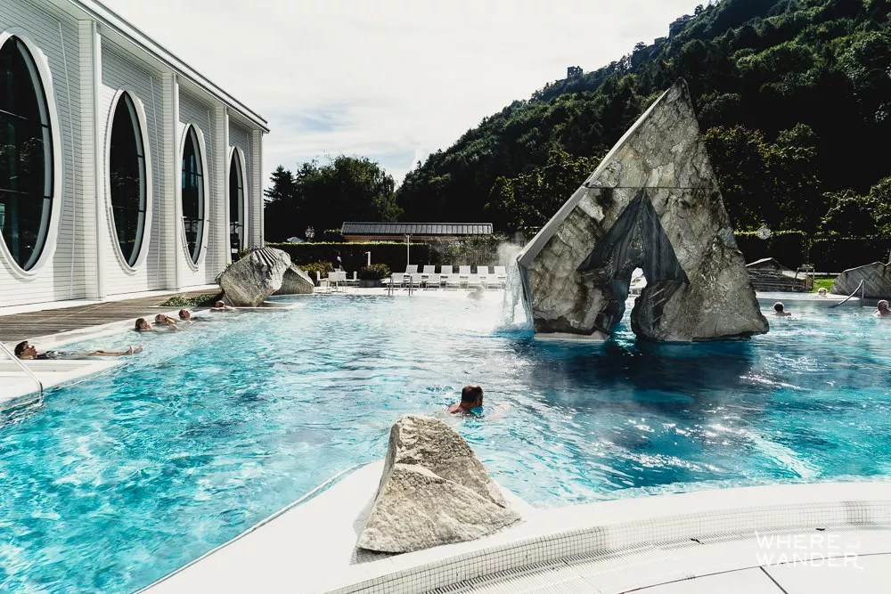 Review Spa Day At The Tamina Therme Bad Ragaz  Where and