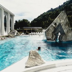 What Are Pool Chairs Made Out Of Old Wooden Folding Rocking Chair Review: Spa Day At The Tamina Therme Bad Ragaz | Where And Wander