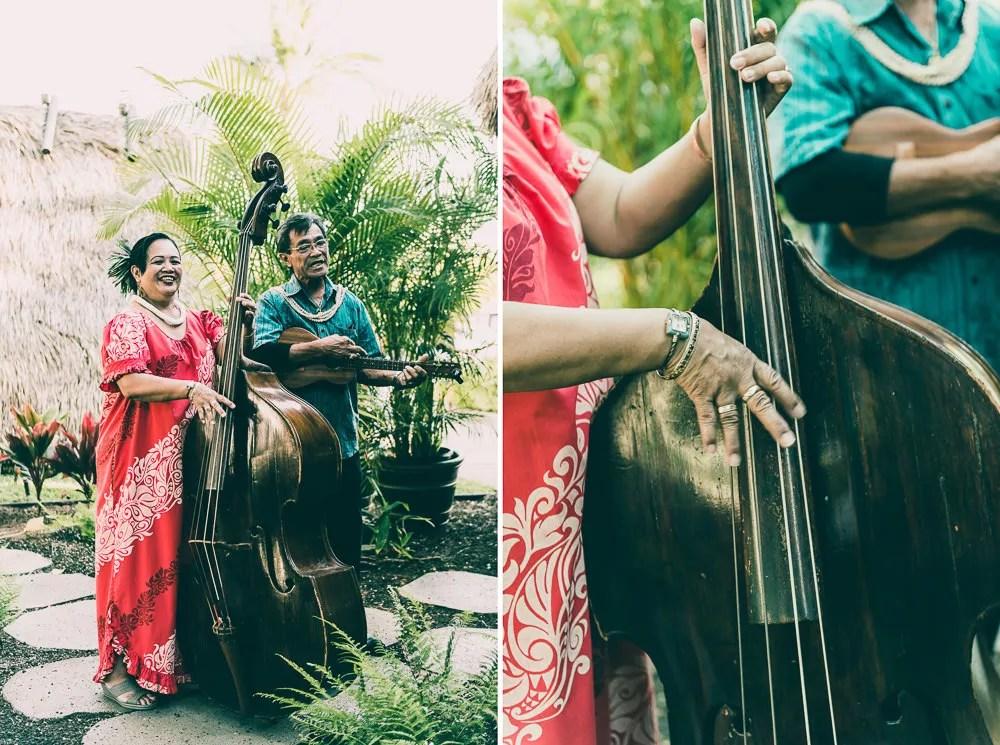 Old Lahaina Luau Traditional Hawaiian Musician