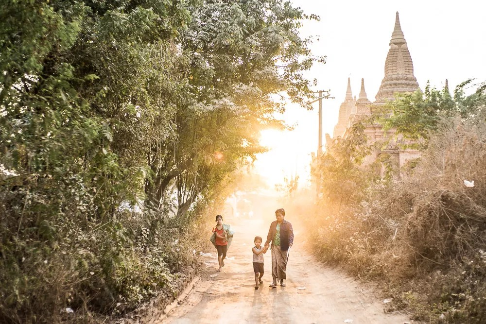 Best Myanmar Landscape Sunset