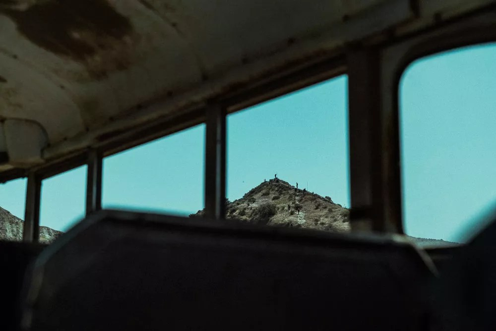 Everest Hill Climb Through Bus Window At Bear Grylls Survival Challenge