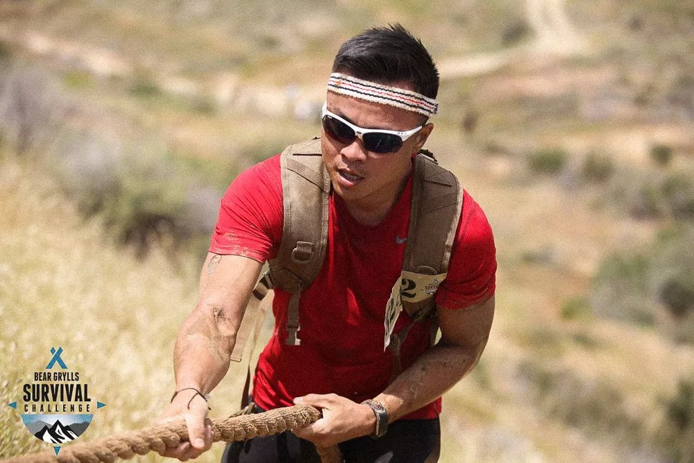 Climbing Everest With Ropes At Bear Grylls Survival Challenge