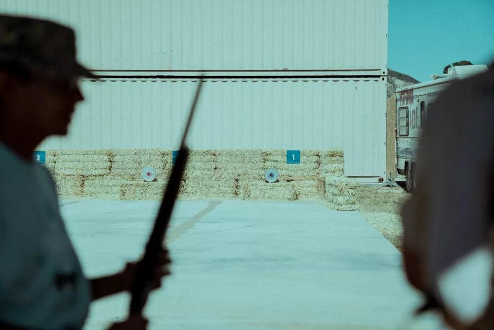 Rifle Shooting Range At Blue Cloud Movie Ranch Bear Grylls Survival Challenge