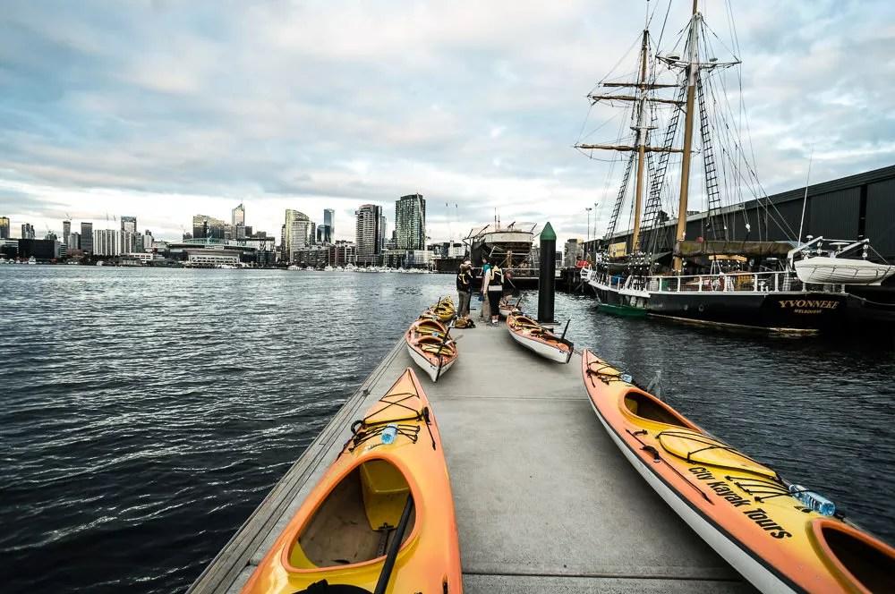 melbourne harbor kayaks