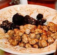 Truffled Crab Melt with Black Oregon Truffles
