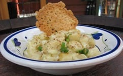 Chef Simon's French Gnocchi Mornay from the Yarra Valley Conference Center