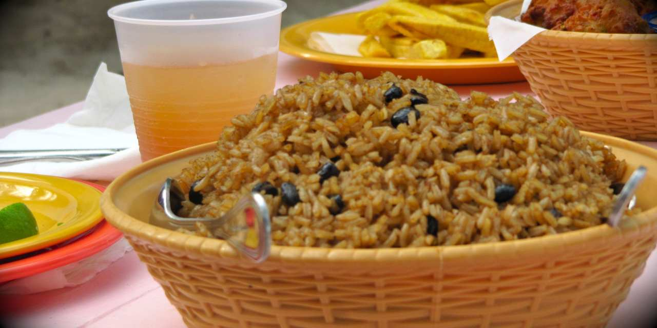 Little Mommy's Rice and Beans with Happy Salsa