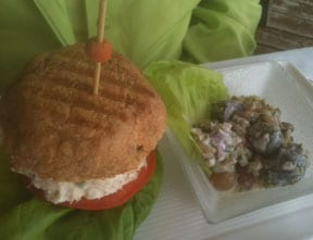 Key West Tuna Sandwich Photo: Skip Mays