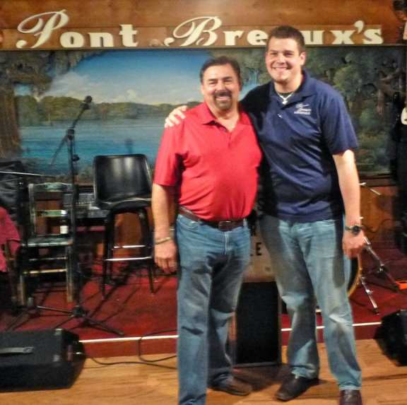 Pont Breaux Restaurant with Host Randy LeBlanc & Son