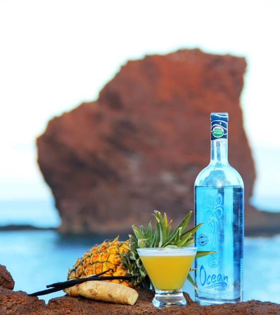 Lokahi Cocktail From Ocean Vodka for Four Seasons Resort Lana'i at Manela Bay