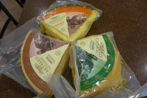Castello Cheeses Photo: Maralyn D. Hill