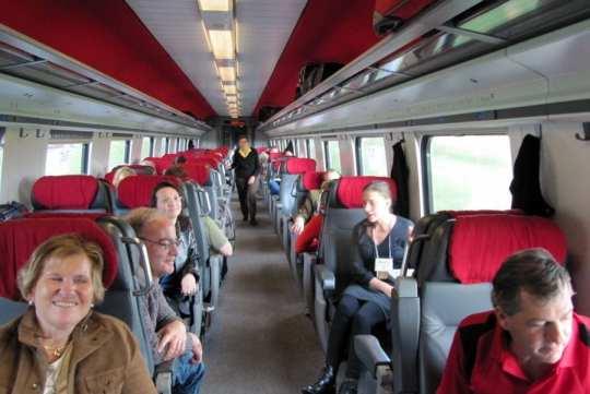 Swiss Rail Photo: Maralyn D. Hill