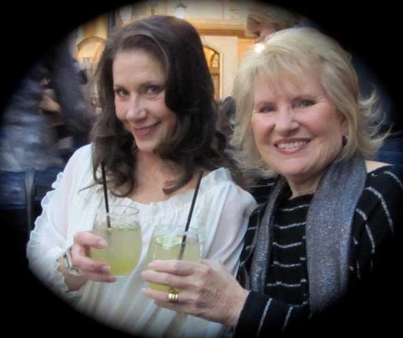Michelle & Maralyn Toasting A Successful Event Photo: Norman E. Hill