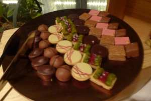 Chocolates from Norfolk Wine Festival Photo: Maralyn D. Hill