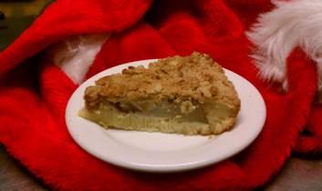 Pear Custard Pie from The St. Francis Inn