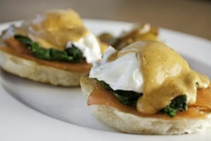 Smoked Salmon Benedict Recipe From Executive Chef Chad McDonald