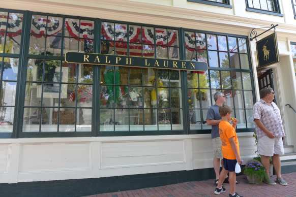 Ralph Lauren Nantucket ©Sherrie Wilkolaski