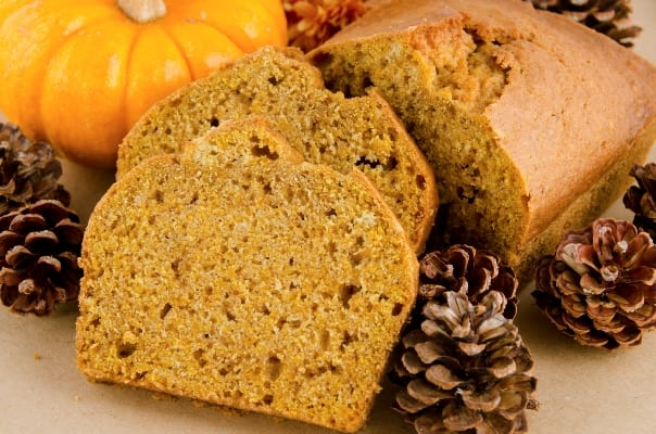 Pumpkin Spice Quick Bread From Bigelow