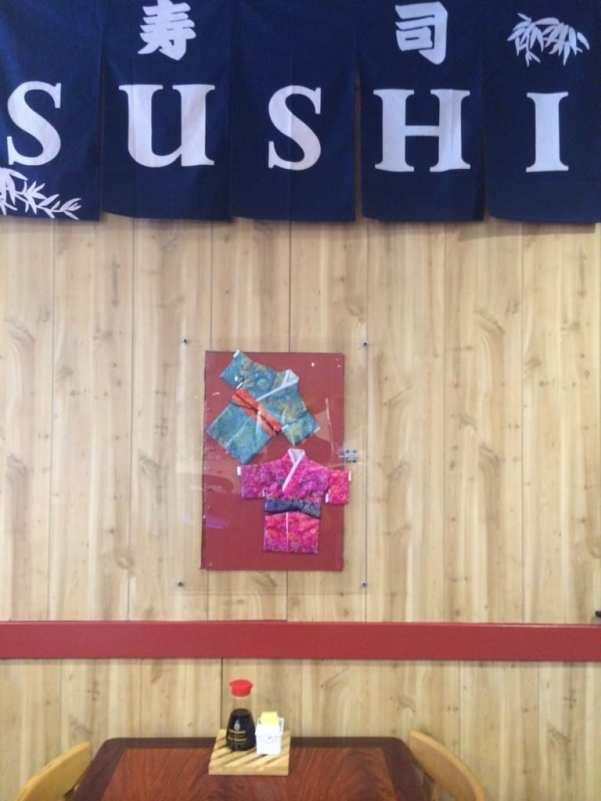 Simple decor at Domo Sushi Bar