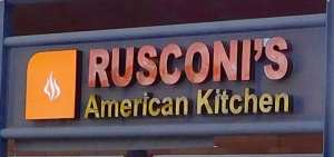 Rusconi's American Kitchen - Photo Maralyn D. Hill
