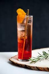 Cranberry Aperol Spritzer