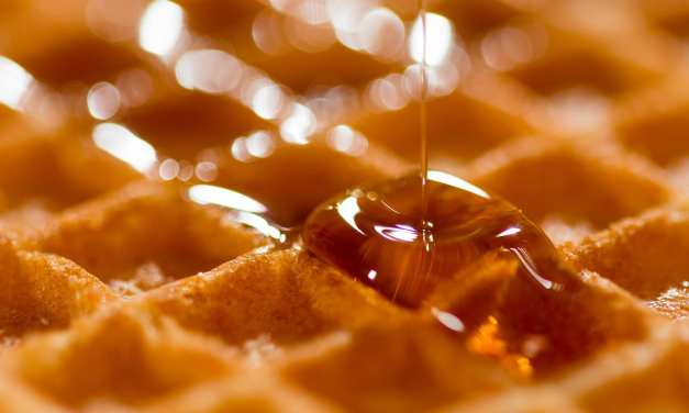 Celebrate National Waffle Day with Pure Maple Syrup