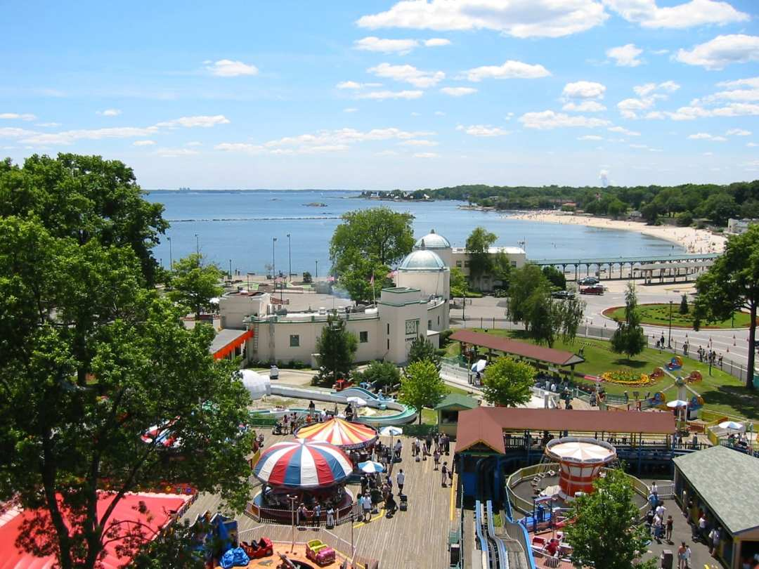 Playland and Rye Beach Courtesy Westchester